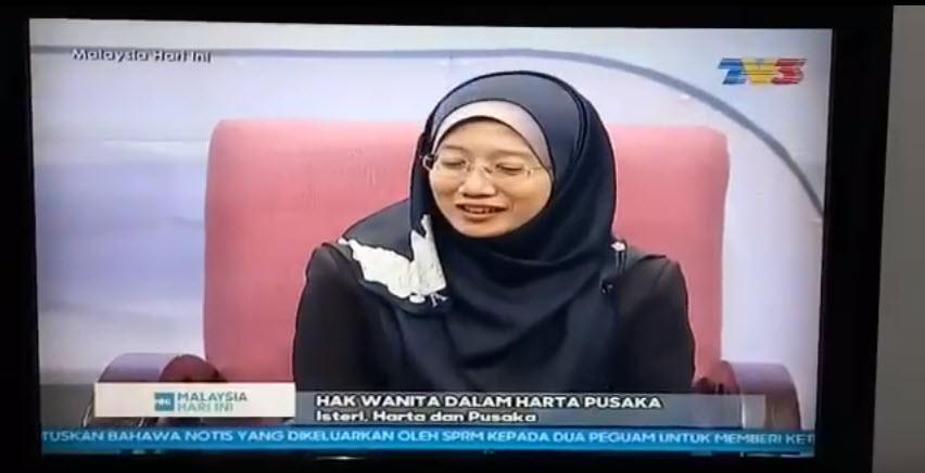 TV3: MHI – Hak Wanita Dalam Harta Pusaka